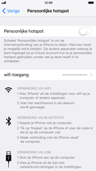 Apple iPhone 8 - WiFi - WiFi hotspot instellen - Stap 4