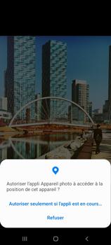 Samsung Galaxy A21s - Photos, vidéos, musique - Créer une vidéo - Étape 6