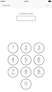 Apple iPhone 7 Plus - Sécuriser votre mobile - Personnaliser le code PIN de votre carte SIM - Étape 10