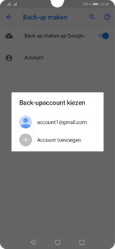 Huawei P30 - Data - maak een back-up met je account - Stap 10