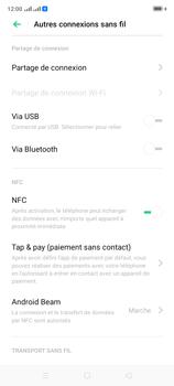 Oppo A9 2020 - Internet et connexion - Utiliser le mode modem par USB - Étape 7