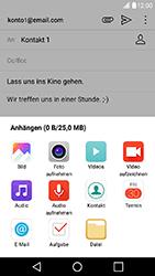 LG X Power - E-Mail - E-Mail versenden - Schritt 11