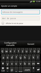 HTC One X Plus - E-mail - Configuration manuelle - Étape 6