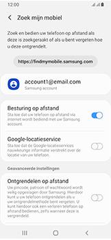 Samsung Galaxy A40 - Toestel - Stel Zoek mijn mobiel in - Stap 7