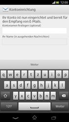 Sony Xperia V - E-Mail - Manuelle Konfiguration - Schritt 15