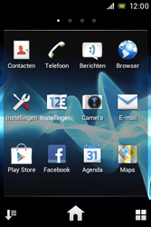 Sony ST23i Xperia Miro - e-mail - handmatig instellen - stap 3