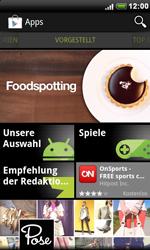 Sony Ericsson Xperia X10 - Apps - Herunterladen - Schritt 10