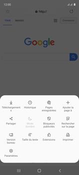 Samsung Galaxy A51 - Internet et connexion - Naviguer sur internet - Étape 9