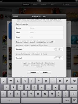 Apple iPad mini - Applicazioni - Configurazione del negozio applicazioni - Fase 17