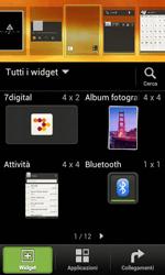 HTC Desire X - Operazioni iniziali - Installazione di widget e applicazioni nella schermata iniziale - Fase 3