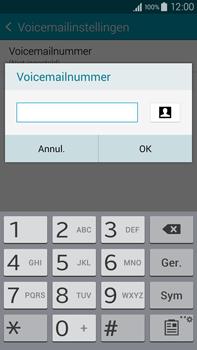 Samsung N910F Galaxy Note 4 - Voicemail - Handmatig instellen - Stap 9