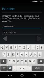 Sony Xperia Z2 - Apps - Konto anlegen und einrichten - Schritt 5