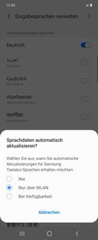 Samsung Galaxy Z flip - Startanleitung - So fügen Sie eine Tastatursprache hinzu - Schritt 10