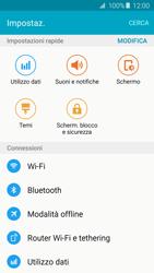 Samsung Galaxy A5 (2016) (A510F) - Internet e roaming dati - Come verificare se la connessione dati è abilitata - Fase 4