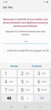 Samsung Galaxy A50 - Sécuriser votre mobile - Activer le code de verrouillage - Étape 8