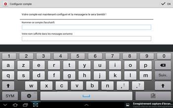 Samsung N8000 Galaxy Note 10-1 - E-mail - Configuration manuelle - Étape 15