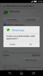 Sony Xperia Z2 - Applications - Comment désinstaller une application - Étape 7