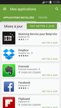 Samsung Galaxy Note 4 - Applications - Comment vérifier les mises à jour des applications - Étape 6