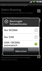 HTC A8181 Desire - Netzwerk - Netzwerkeinstellungen ändern - Schritt 7