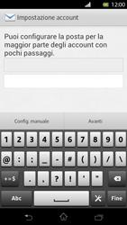 Sony Xperia T - E-mail - Configurazione manuale - Fase 6