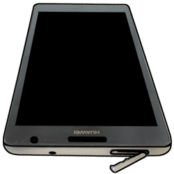 Huawei Ascend Mate - SIM-Karte - Einlegen - 4 / 6