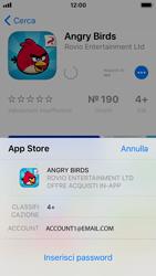 Apple iPhone SE - iOS 11 - Applicazioni - Installazione delle applicazioni - Fase 13
