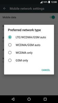 Acer Liquid Zest 4G Plus - Network - Change networkmode - Step 8