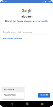 Sony Xperia XZ3 - Applicaties - Account instellen - Stap 6
