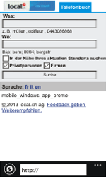 Nokia Lumia 800 / Lumia 900 - Internet und Datenroaming - Verwenden des Internets - Schritt 15