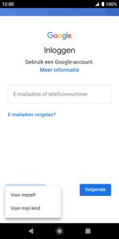 Sony xperia-xz2-h8216-android-pie - Applicaties - Account aanmaken - Stap 6