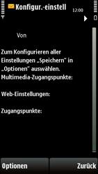 Nokia E72 - Internet - Automatische Konfiguration - 0 / 0