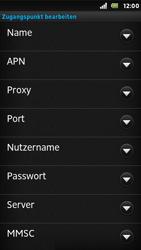Sony Xperia U - Internet - Apn-Einstellungen - 12 / 23
