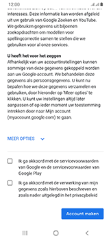 Samsung Galaxy A40 - apps - account instellen - stap 15