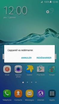 Samsung Galaxy S6 edge+ (G928F) - Téléphone mobile - Comment effectuer une réinitialisation logicielle - Étape 4