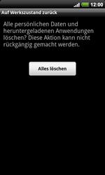 HTC A9191 Desire HD - Fehlerbehebung - Handy zurücksetzen - Schritt 9