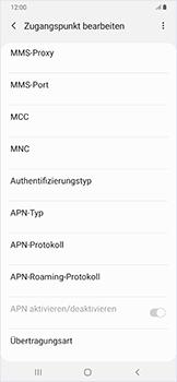 Samsung Galaxy A50 - Internet - Manuelle Konfiguration - Schritt 14