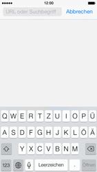 Apple iPhone 5 iOS 7 - Internet und Datenroaming - Verwenden des Internets - Schritt 4