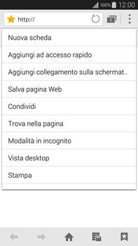 Samsung Galaxy Note 4 - Internet e roaming dati - Uso di Internet - Fase 11