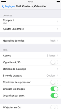 Apple iPhone 6s Plus - E-mail - Configuration manuelle - Étape 16