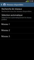 Samsung Galaxy S 4 Mini LTE - Réseau - Sélection manuelle du réseau - Étape 8