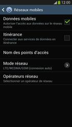 Samsung Galaxy S4 - Internet et connexion - Activer la 4G - Étape 8