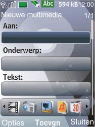 Nokia 7210 supernova - MMS - Afbeeldingen verzenden - Stap 7