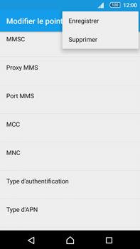Sony Xperia Z5 Premium (E6853) - MMS - Configuration manuelle - Étape 15