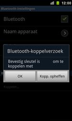 Samsung I9100 Galaxy S II - Bluetooth - koppelen met ander apparaat - Stap 10