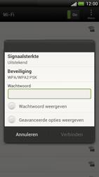 HTC Z520e One S - WiFi - Handmatig instellen - Stap 8