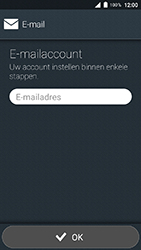 Doro 8035 - E-mail - Account instellen (POP3 zonder SMTP-verificatie) - Stap 5