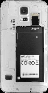 Samsung Galaxy S5 - SIM-Karte - Einlegen - 4 / 8