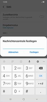 Samsung Galaxy A50 - SMS - Manuelle Konfiguration - Schritt 10