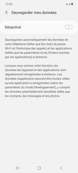 Samsung Galaxy Note20 - Aller plus loin - Gérer vos données depuis le portable - Étape 10