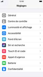Apple iPhone SE - iOS 13 - Sécurité - activéz le code PIN de l'appareil - Étape 3